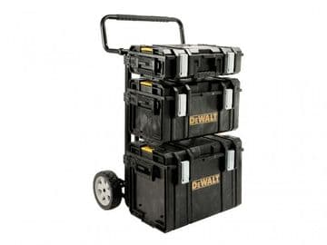 TOUGHSYSTEM 4-in-1 Trolley & 3 DS Toolboxes